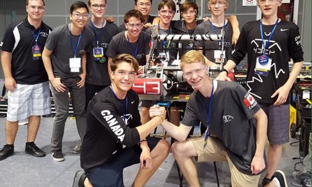 Local Team wins big at China Robotics Challenge Tournament!