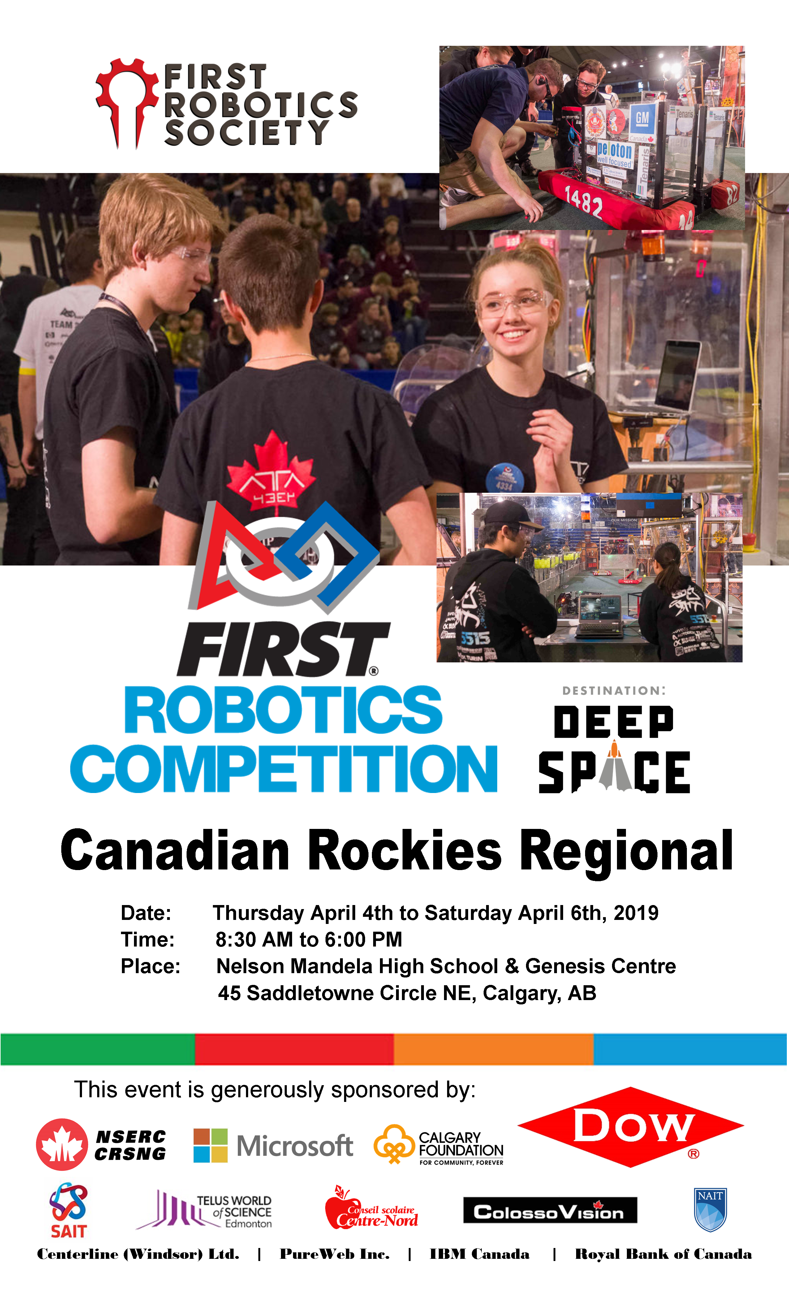 FIRST Western Canada – FIRST Robotics Alberta and Saskatchewan